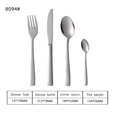 18/8 Stylish Stainless Steel Flatware