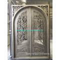 Full Arch Iron Doors