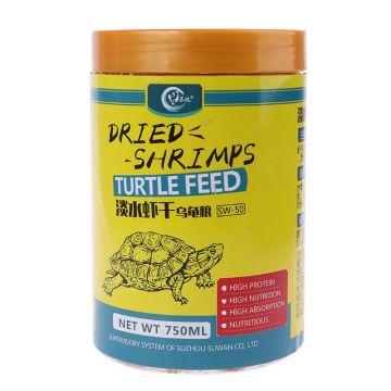 500ml Aquarium Food Dried Shrimp Krill For Fish Turtle Feeding Hamster Protein