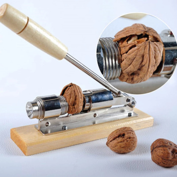 Nutcracker Almond Crack Plier Nut Hazelnut Hazelnut Pecan Heavy Duty Walnut Cracker Hazelnut Machine Sheller Kitchen Clamp Clip