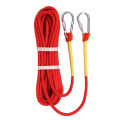 Outdoor mooring shipping nylon polyester rope with hook