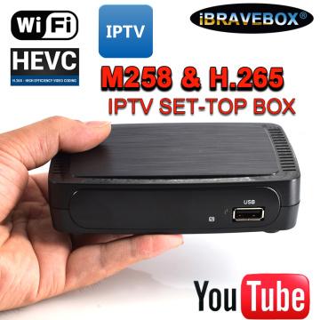 iBRAVEBOX M258 TV Receiver Satellite Internet Digital Set Top Box IPTV Receiver Decoder Full HD 1080P 4K TV Box with USB Wifi#50