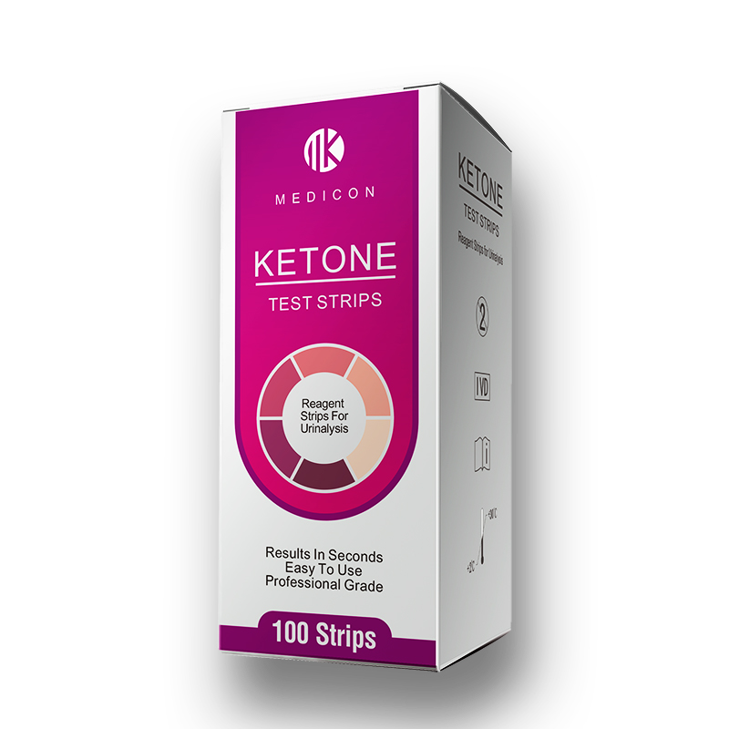 urine reagent ketone test strip