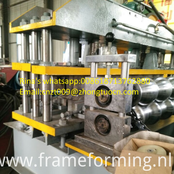 steel sheet roof sheet roll forming machine line 13