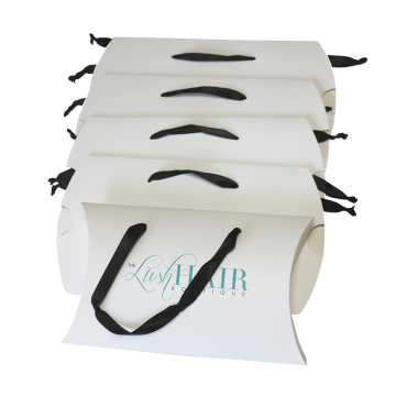 Custom Handles Color Printed Hair Paper Box
