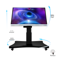 65 Inches Smart LCD Panel With Automatic Stand