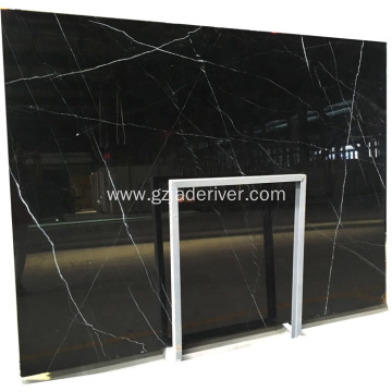 Black Marquina Marble for Indoor and Outdoor Decoration