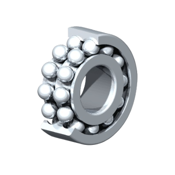 Double Row Deep Groove Ball Bearings 88500 Series