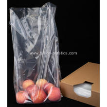 LDPE Clear Flat Bag With Gusset