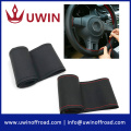 Leather Hand Sewing Steering Wheel Cover
