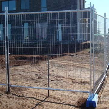 Construction Temporary fence / Temporary Chain Link Fence Panels / Portable Event Fencing