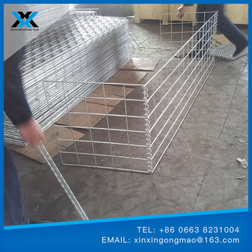 Construction & Decoration welded gabion mesh