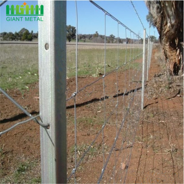 Excellent visibility fixed knot farm guard filed fence
