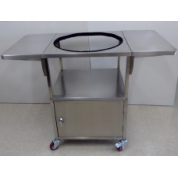 BBQ Stainless Steel Table Stand with Wheels
