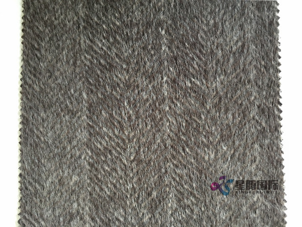 70%Alpaca 30%Wool Tweed Fabric