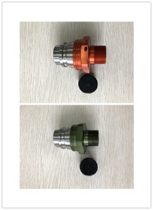 ISO16028 Quick Coupling FF5A Male Yellow