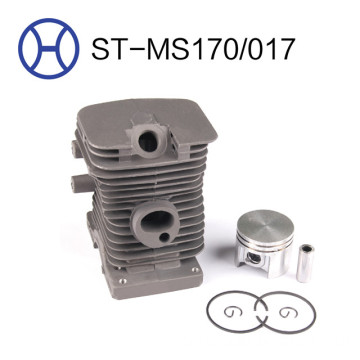 MS170/017 chainsaw spart parts cylinder piston kits