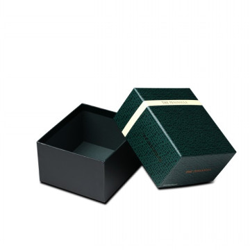 Square shaped logo printed gift box