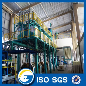 Small Scale wheat flour mill factory