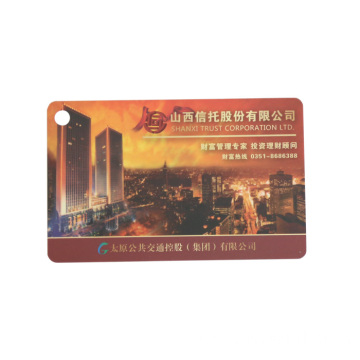Blank Smart Chip Card With Magnetic Stripe