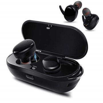 Bluetooth Earphone V5.0 Echte kabellose Stereo-Ohrhörer