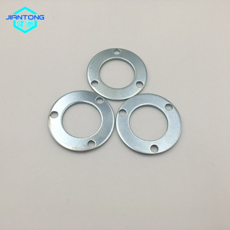 customized factory zinc plated punched metal stamping washer (5)