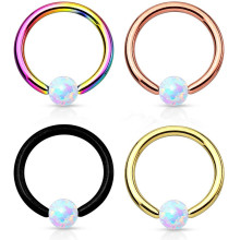 Synthetic Opal Ball Ion Plated CBR