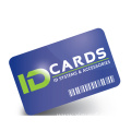 ISO 14443a HF 13.56MHZ Punch Hole RFID Card