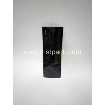 Pure Black Rectangle Packaging Bag