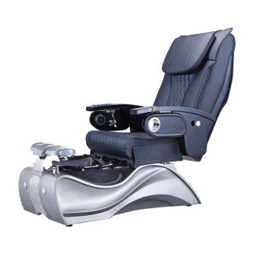 Luxury Black Spa Pedicure Chairs