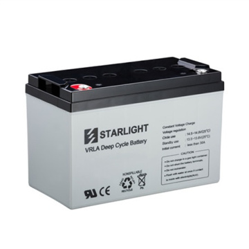 6V DC6-225 VRLA Deep Cycle Battery