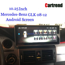 GLK Android Wide Touch Screen per Benz