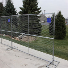 US standard Chain link mesh infilling Temporary fence