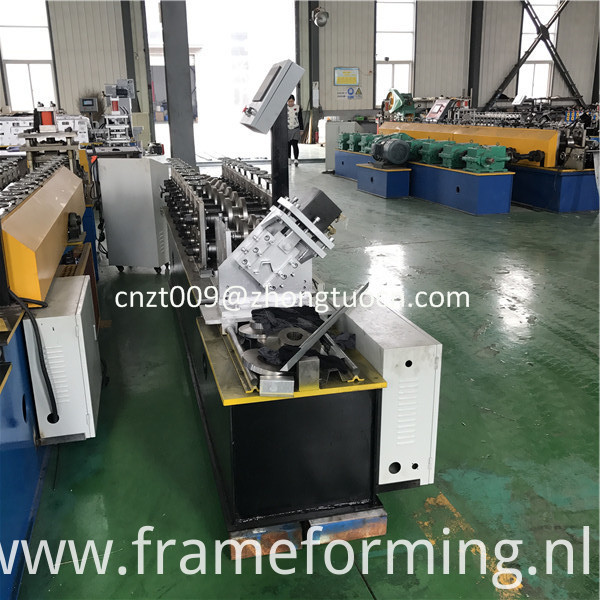 omega profile roll forming machine 0