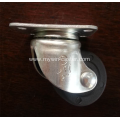 2 inch plate swivel PP material low gravity caster wheel