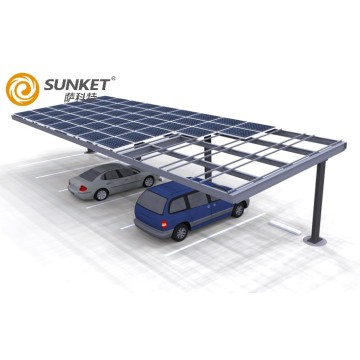 Solar car parking Carport system