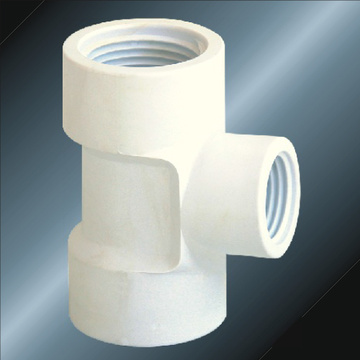BS4346 Water Supply Upvc Reducing Female Thread Tee
