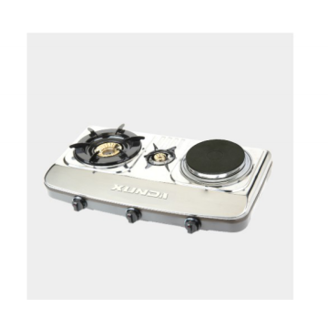 1 Burner Stainless Gas Stove With 1 Hotplate