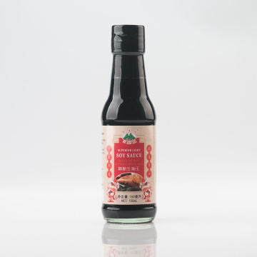 Light Soy Sauce in 150ml Glass Bottle