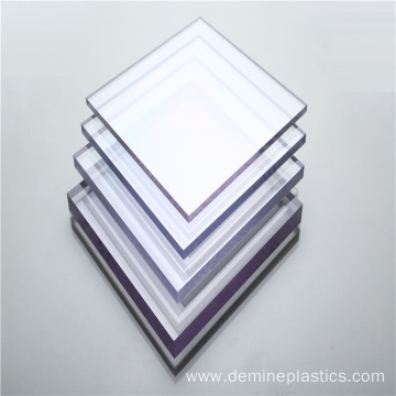 Demine excellent plastic sheet polycarbonate sheet clear