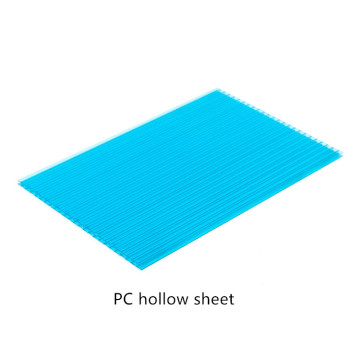 Double Layers Polycarboante Hollow Sheet
