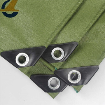 Olive WorkHorse Polyester Canvas Tarps