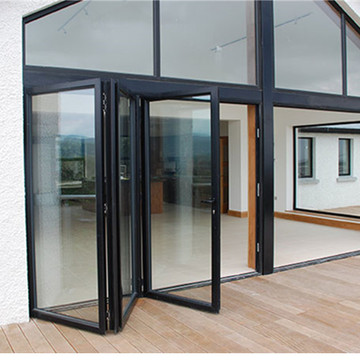 Lingyin Construction Materials Ltd aluminum door picture aluminum glass bi-folding door for house
