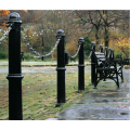 Cast iron Bollards and seating