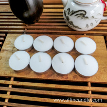 14g Unscented Pure Paraffin Wax Tealight Candle