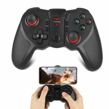 Wireless Android Gamepad T12 Wireless Joystick Game Controller Bluetooth BT4.0 Joystick For IOS Mobile Phone Tablet TV Holder