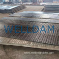 excavator bucket hardfacing cladding steel plate