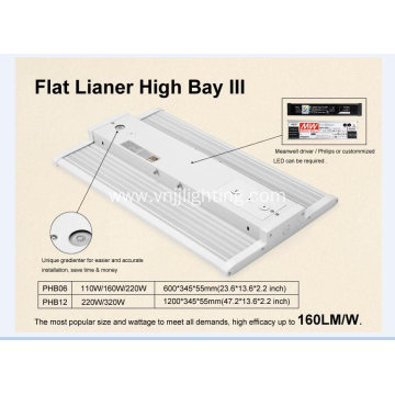 150w led flat linear High bay LED lights