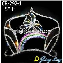 Princess Rainbow And Butterfly Custom Crowns For Easter