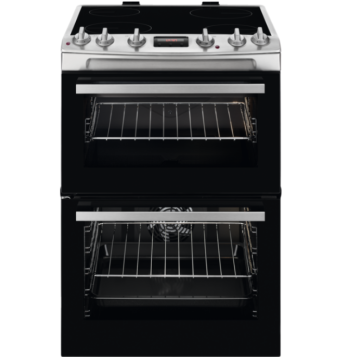 Electric Hob and Oven Zanussi Black